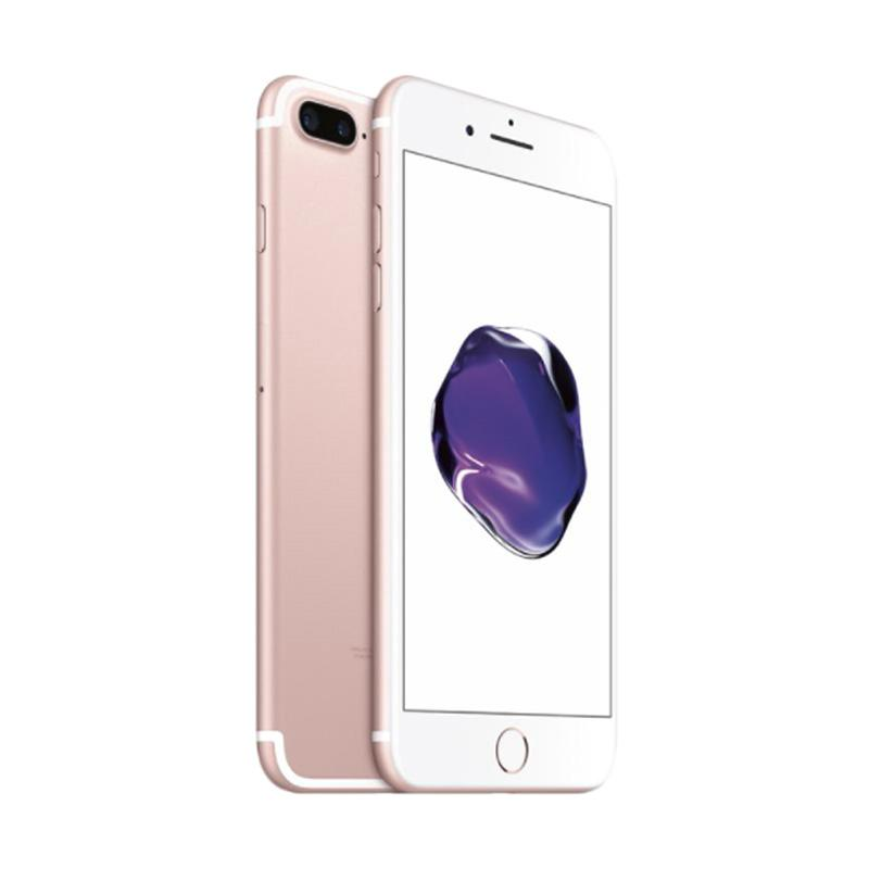 jual apple iphone 7 plus 128 gb smartphone rose gold cpo online harga kualitas terjamin. Black Bedroom Furniture Sets. Home Design Ideas