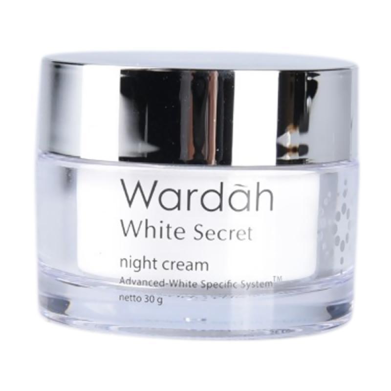 Jual Wardah White Secret Night Cream 30 G Online