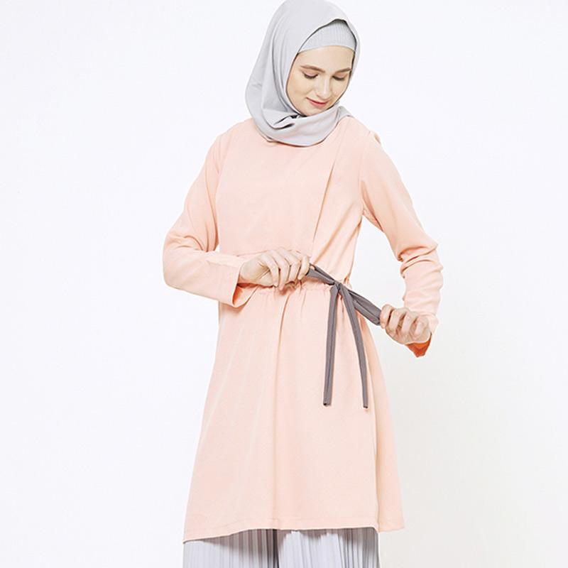 Ragam Baju Tunik Terbaru Untuk Wanita Berhijab - fainun.com