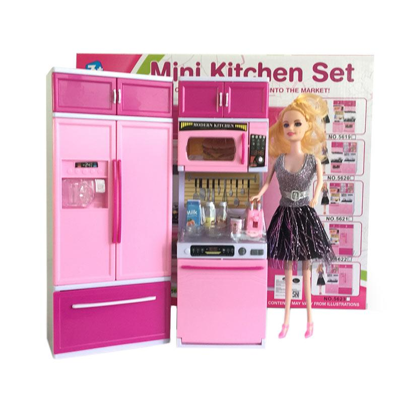 Jual ocean toy 5622 mini kitchen set mainan anak perempuan for Kitchen set anak