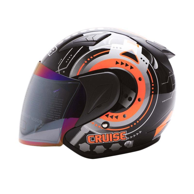 Jual MSR Helmet Javelin Cruise Helm Half Face