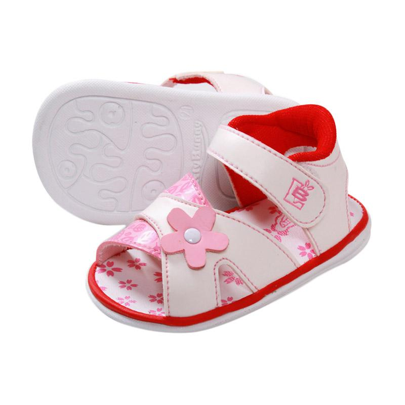 Jual Lusty Bunny Baby Shoes Motive Flower Leaf Sepatu