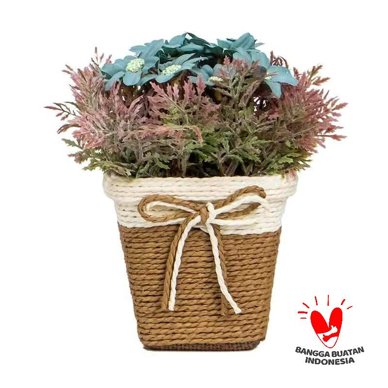 Jual Mendekor Doloupa Pots And Planters Biru Online