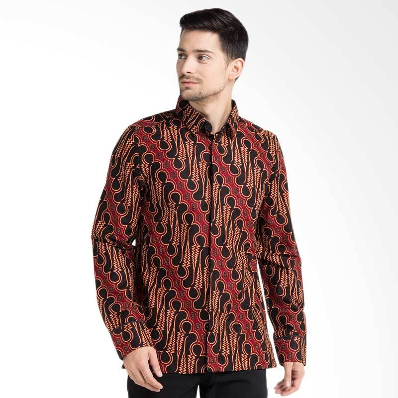 Jual Kemeja Batik Unik: Jual Arthesian Batik Parang Rusak Printing Kemeja Batik