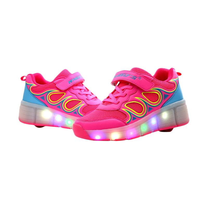 Jual WHEELYS 006 Roda Tunggal Sepatu Anak Perempuan With