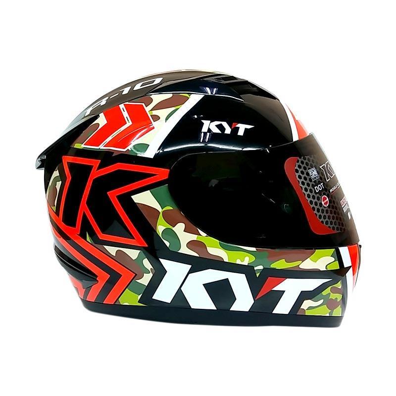 Jual KYT R10 Seri 1 Circuit Helm Full Face