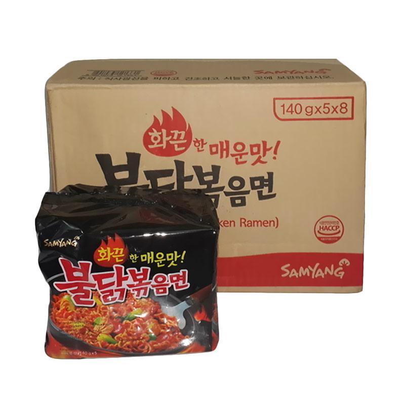 Jual Samyang Hot Chicken Ramen Mie Instant [40 pcs] Online