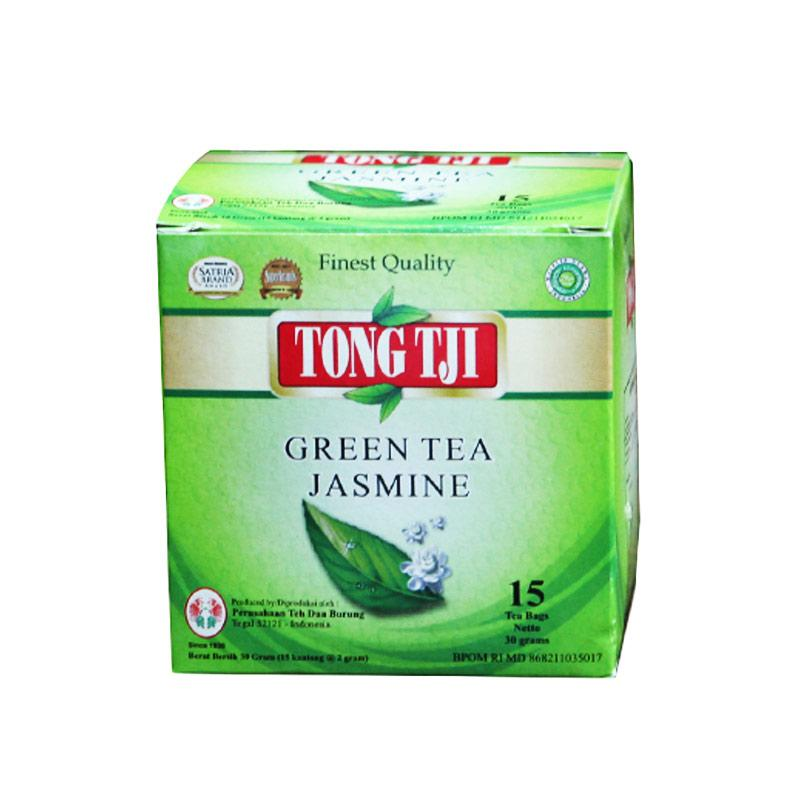 Jual Tong Tji Green Tea Jasmine Teh Celup dengan Amplop [2 ...