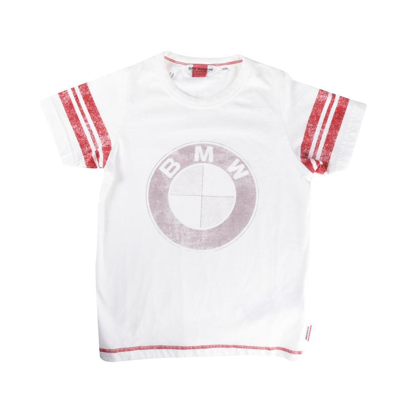 Jual bmw motorrad logo for kids t shirt putih online for Bmw t shirt online