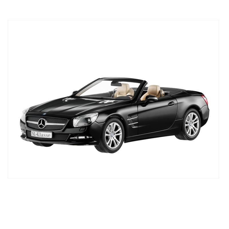 Jual mercedes benz sl class r231 ii miniatur mobil black for Mercedes benz catalog online