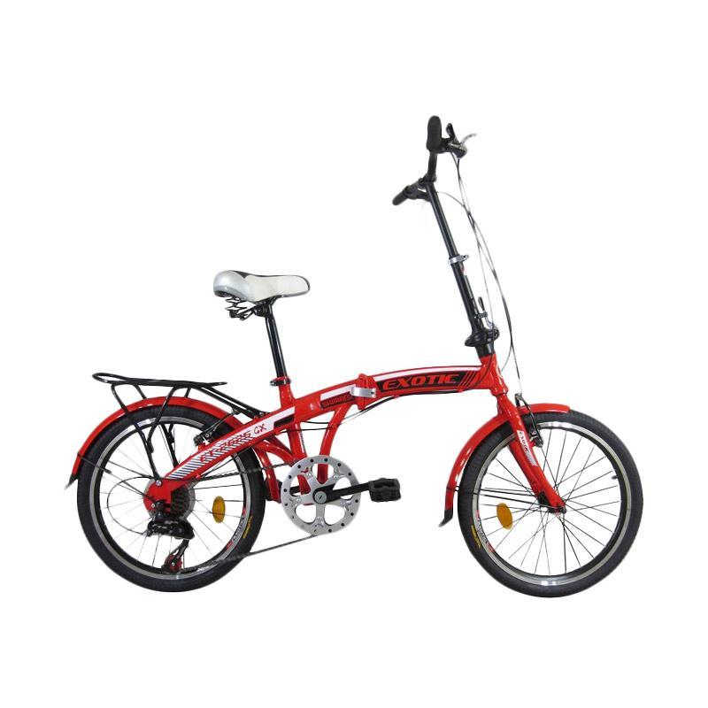 Jual sepeda lipat exotic 20 cek harga di