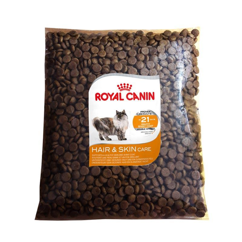 jual royal canin hair skin repack makanan kucing 400 g online harga kualitas terjamin. Black Bedroom Furniture Sets. Home Design Ideas