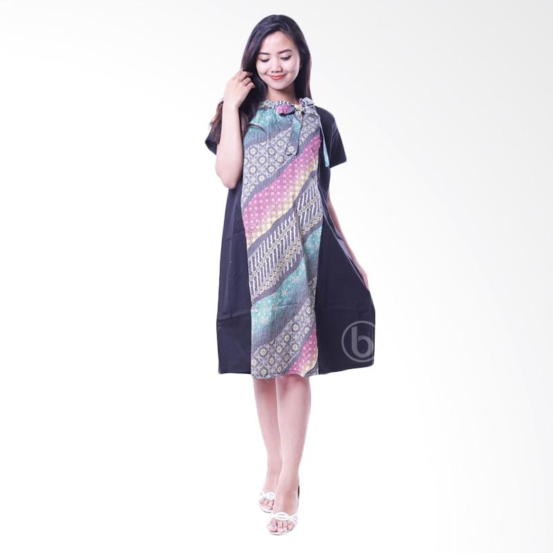 Jual Mama Hamil Btk 144 D Modis Batik Dress Baju Hamil