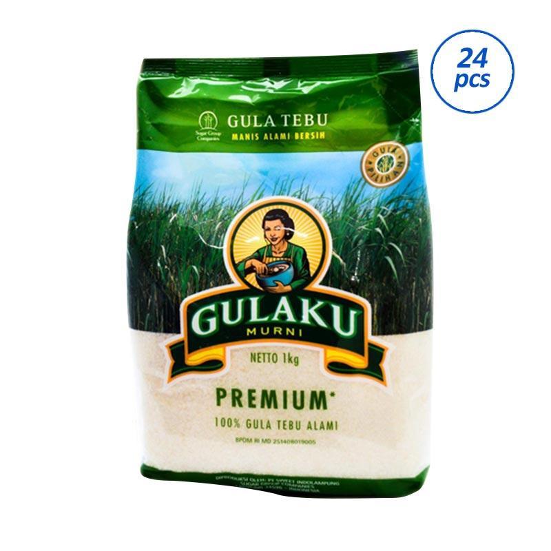 Jual GULAKU Premium Gula Pasir 24 Packs 1 Kg Online