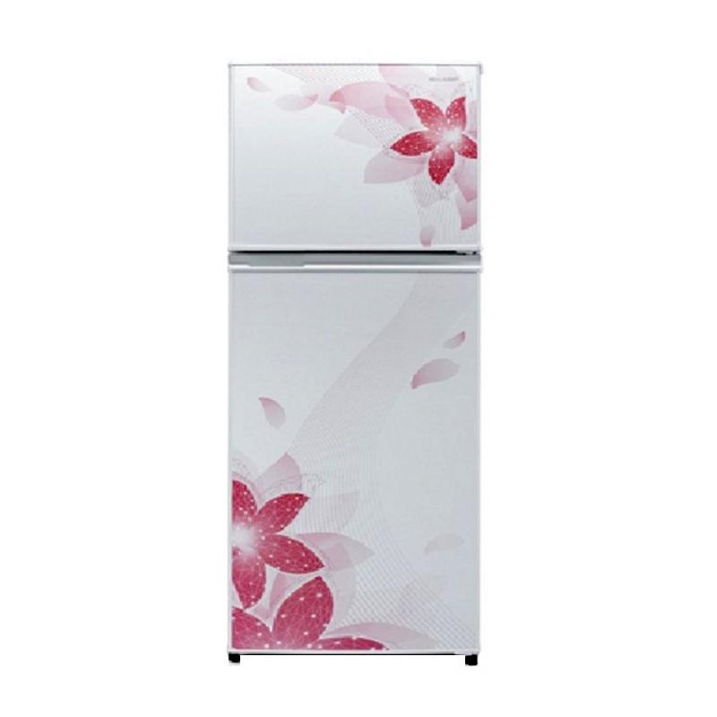 Jual SHARP SJ316NDFW Small Two Door Refrigerator
