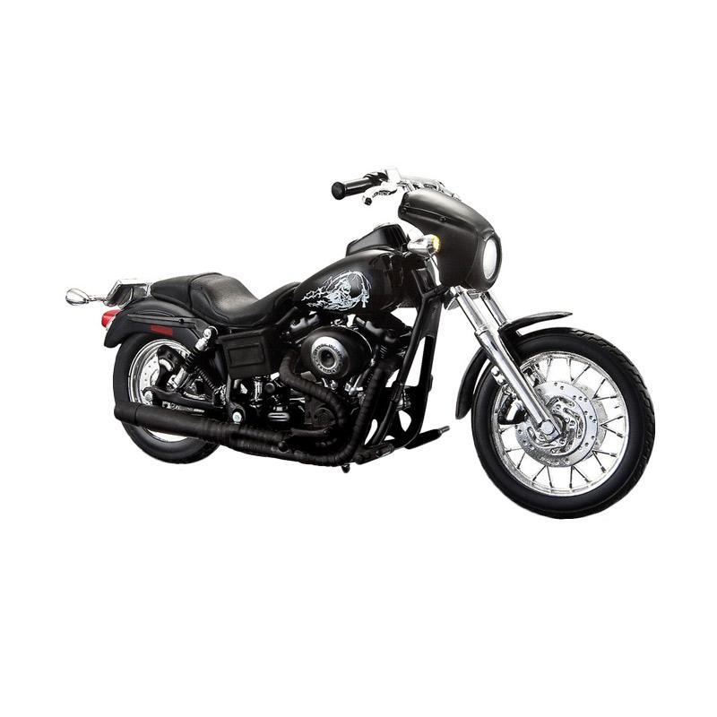 jual maisto son of anarchy 2003 harley davidson dyna super glide sport diecast 1 12 online. Black Bedroom Furniture Sets. Home Design Ideas