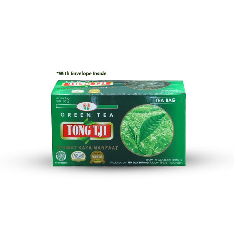 Jual Groceries - Buy 1 Free 1 - Tong Tji Green Tea - Teh ...