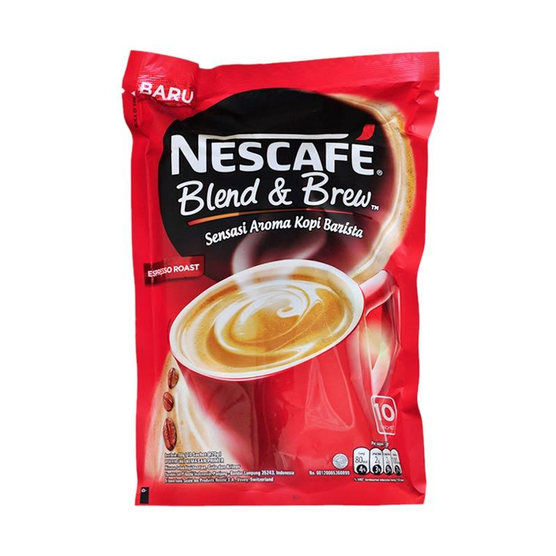 6 Nescafe Blend Brew 20gr Isi 10 Czzzczzf Galeri  : nescafenescafe blend brew espresso roast 10 s x 20grfull02 from cekhargaonline.com size 800 x 800 jpeg 52kB