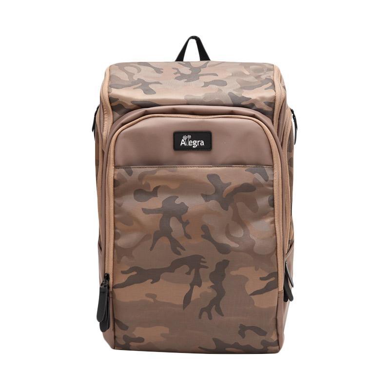 jual allegra army city diaper backpack cream online harga kualitas terjamin. Black Bedroom Furniture Sets. Home Design Ideas