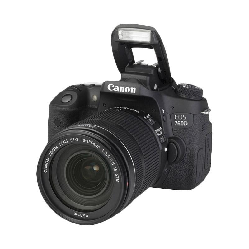 Jual Canon EOS 760D Kit Lens 18 135mm STM WiFi Kamera DSLR