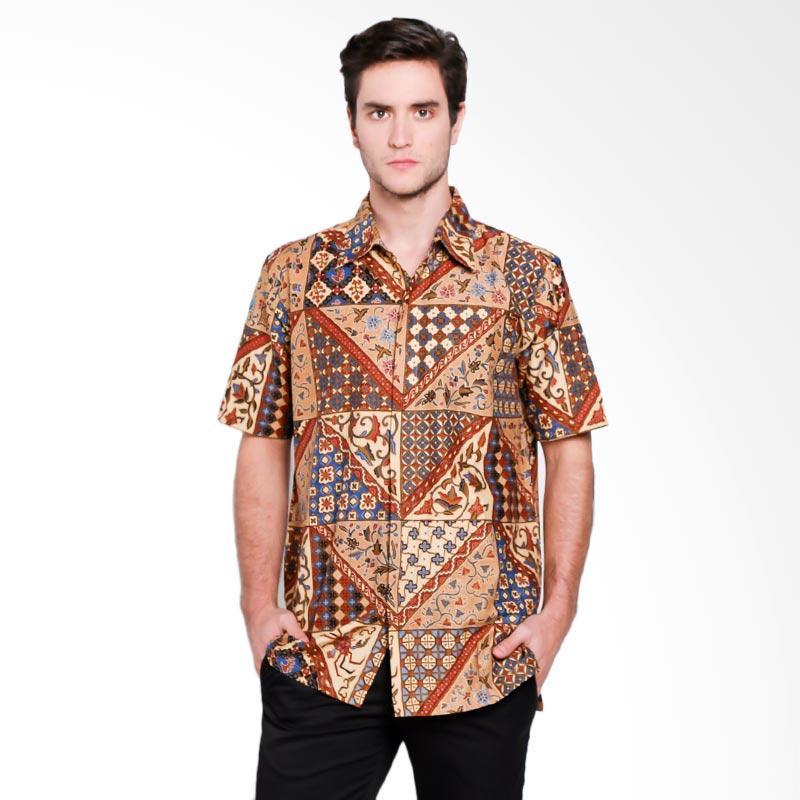 Harga Baju Batik Pria Danar Hadi: Jual Danar Hadi Men Motif Tambal V Rinenggo Batik Kemeja