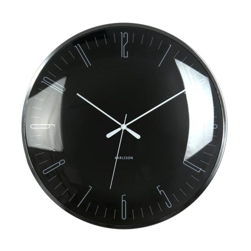 jual karlsson wall clock dragonfly dome glass wall clock
