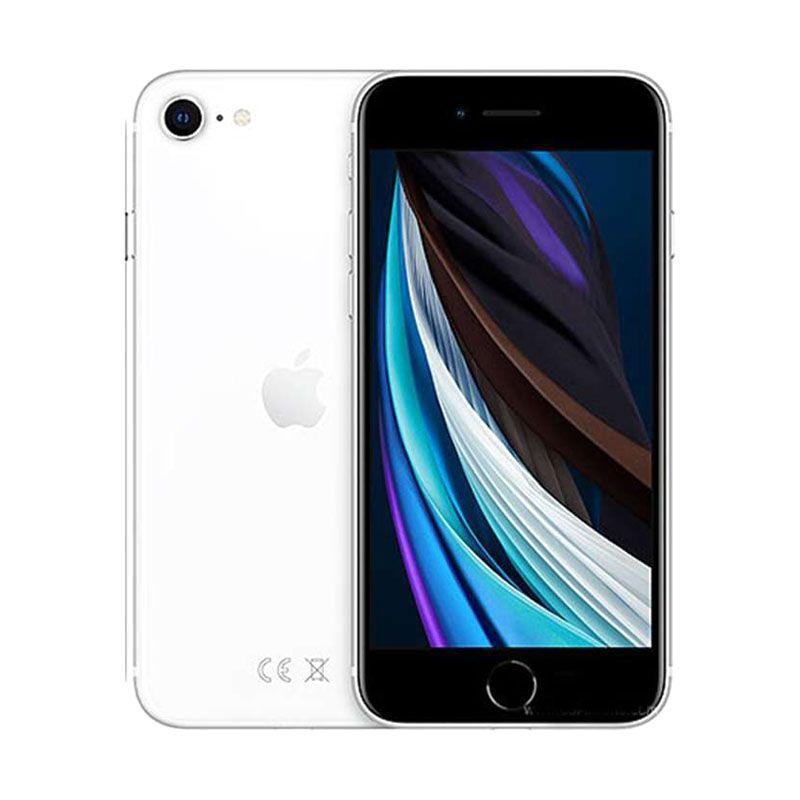 Jual Apple iPhone SE (2020) (White, 64 GB) Online Januari ...