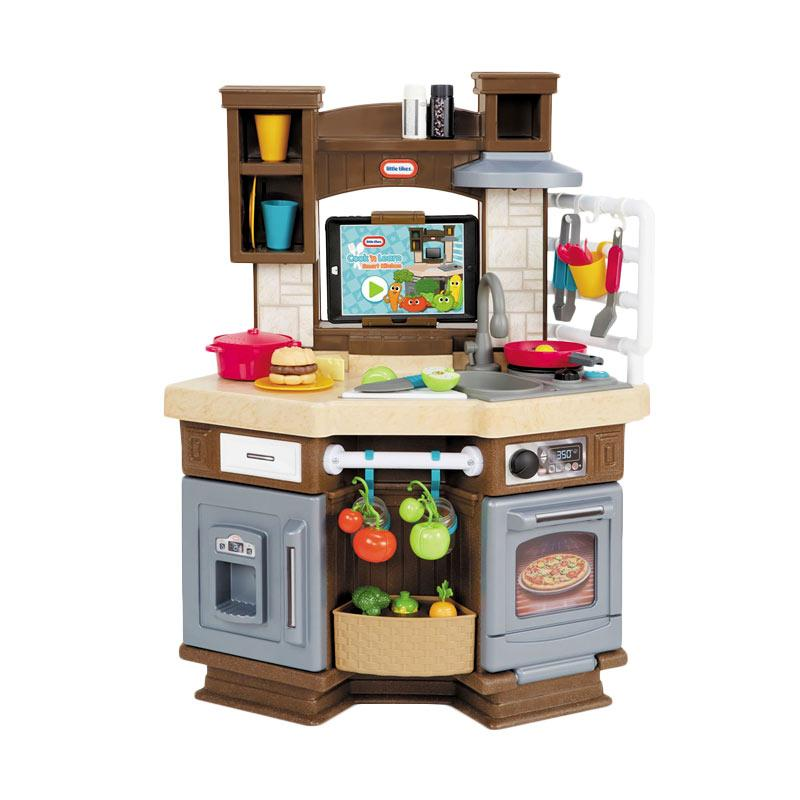 Jual little tikes cook learn smart kitchen set mainan for Kitchen set anak