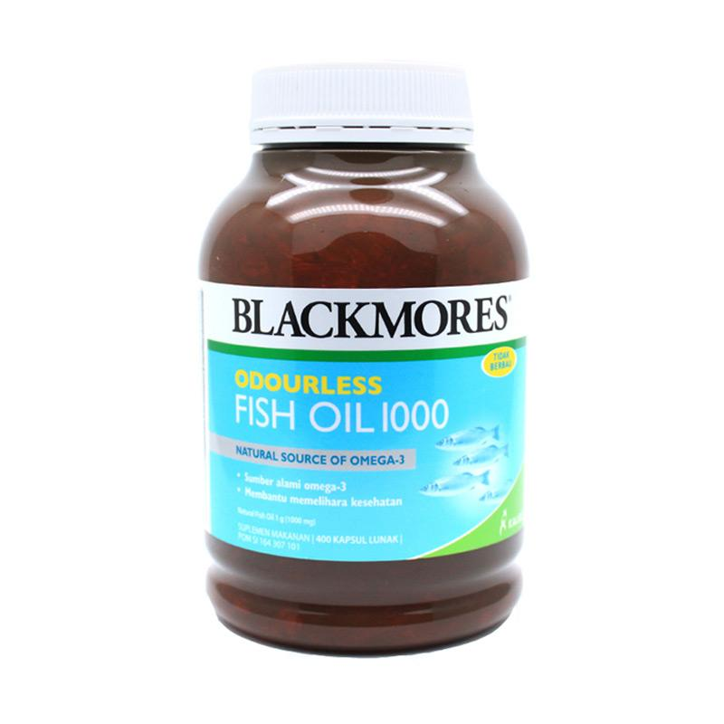 Jual blackmores odourless fish oil 1000 400s multivitamin for Multivitamin with fish oil