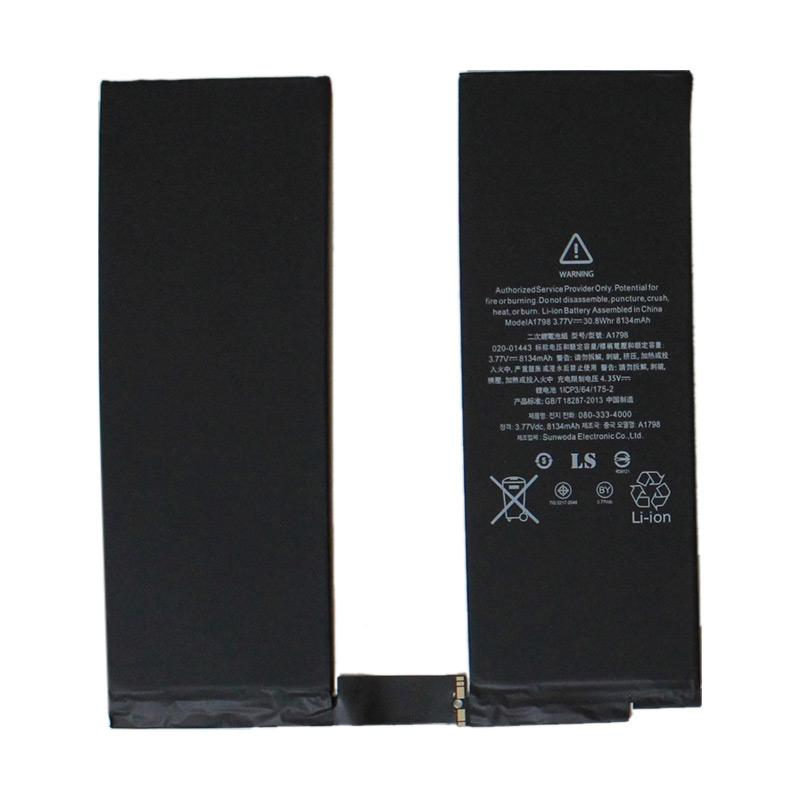 Jual Li Ion A1798 Battery For Apple IPad Pro 105 Inch KD