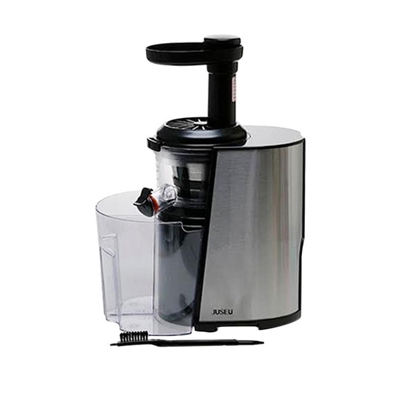 Beli Slow Juicer Sharp : Jual JUSEU PC150B Slow Juicer - Silver Hitam Online ...