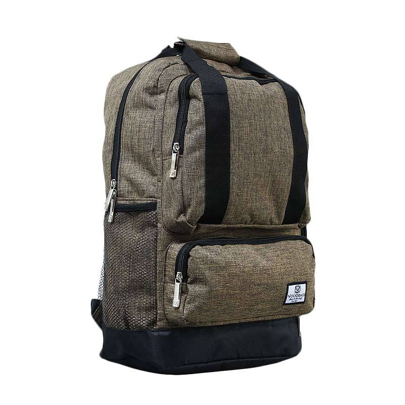 Jual Woodbags Backpack Animo Tas Ransel Golden Brown