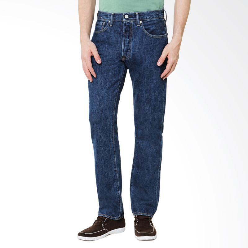 Jual Levis Original 501 Fit Jeans Stone Wash Celana
