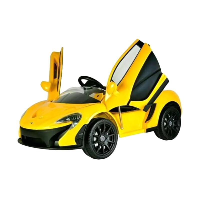 jual pliko pk 3878 mc laren ride on toys mobil aki yellow jabodetabek online harga. Black Bedroom Furniture Sets. Home Design Ideas