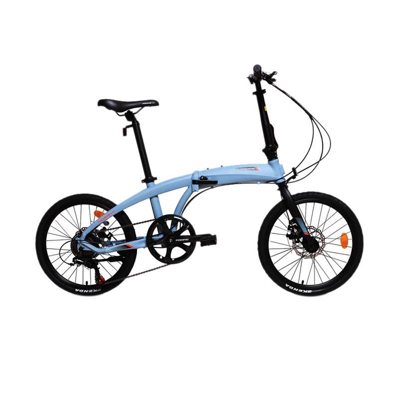 Jual Pacific Noris 1.0 Sepeda Lipat [16 Inch] Brown Online