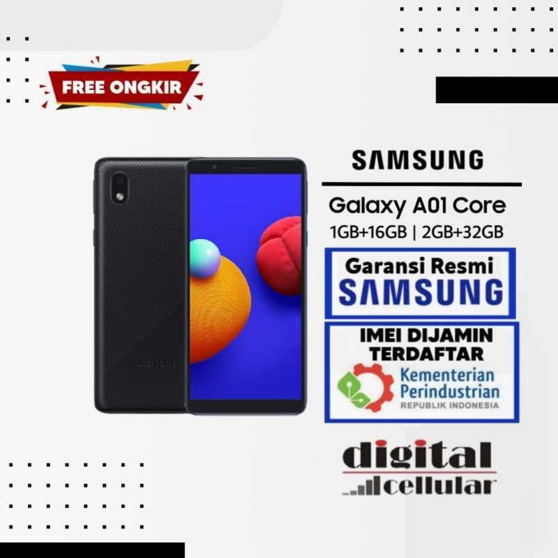 Jual Samsung A01 Core [1GB 16GB/New original Garansi Resmi ...