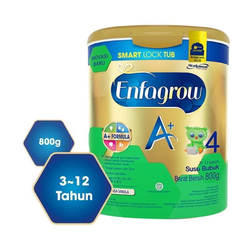 6 Enfagrow A 4 Susu Pertumbuhan Smart Lock Tub Vanila  : enfagrowenfagrow a 4 vanilla 800g smart lock tub full09 from cekhargaonline.com size 800 x 800 jpeg 54kB