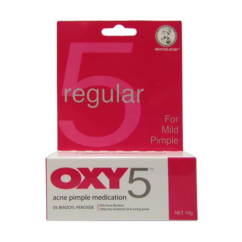 OXY 5 Regular Mild Pimple Obat Jerawat