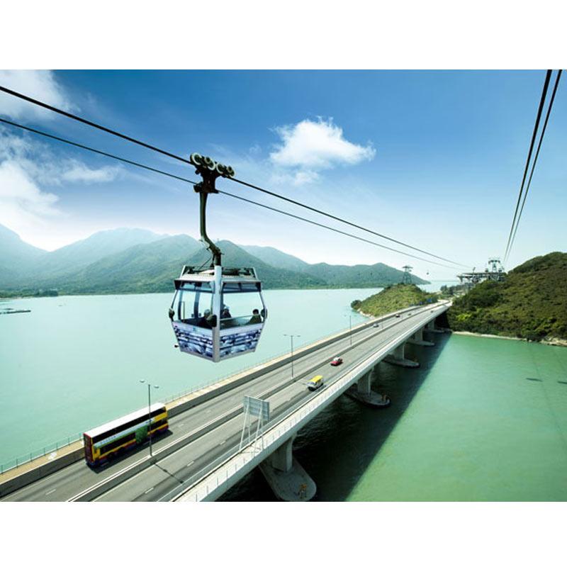 Hongkong Ngong Ping 360 Cable Car Only E