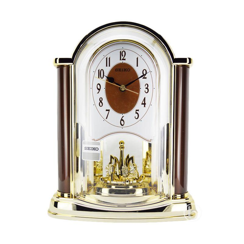 Seiko Desk Clock Gold Hostgarcia