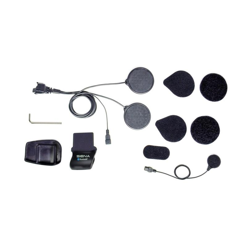 jual sena smh5 fm bluetooth headset clamp kit for helm full face online harga kualitas. Black Bedroom Furniture Sets. Home Design Ideas
