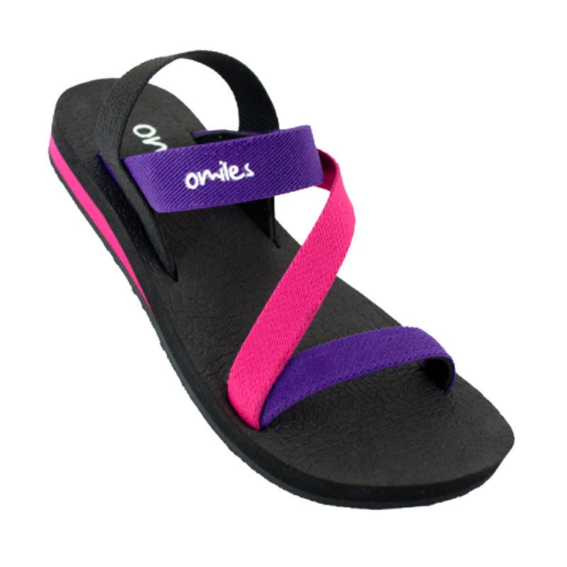 Jual Omiles Merlyn Teen Sandal Anak - Purple Fushia Online ...