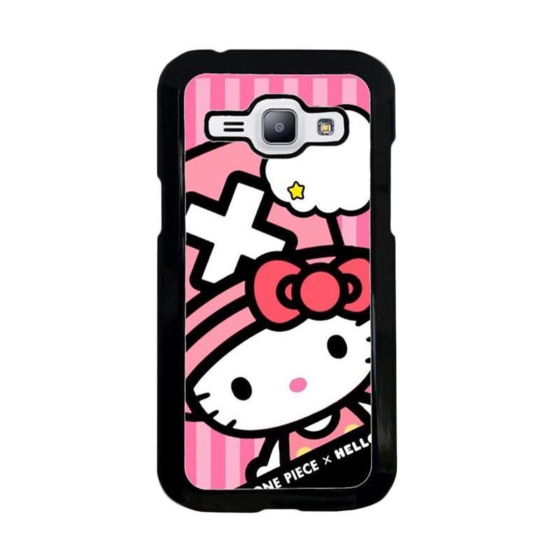 jual acc hp hello kitty w4466 custom casing for samsung j1