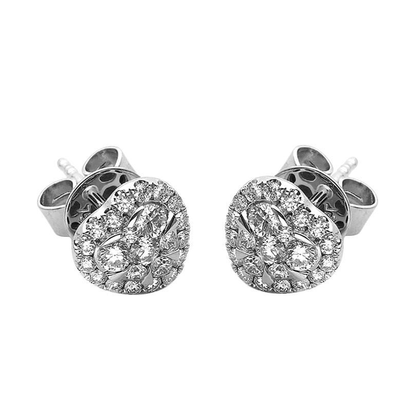 Jual LINO S1703010032 VVS Anting Berlian Emas Putih [18K] Online - Harga & Kualitas Terjamin
