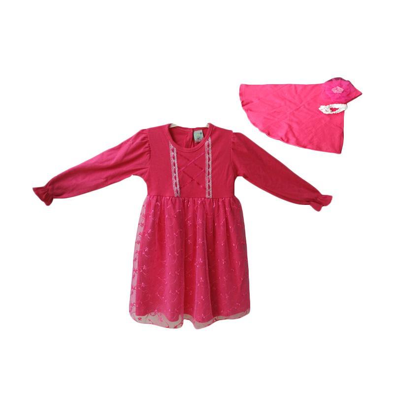 Jual Baby Zakumi Baju Gamis Muslim Anak Perempuan Fanta