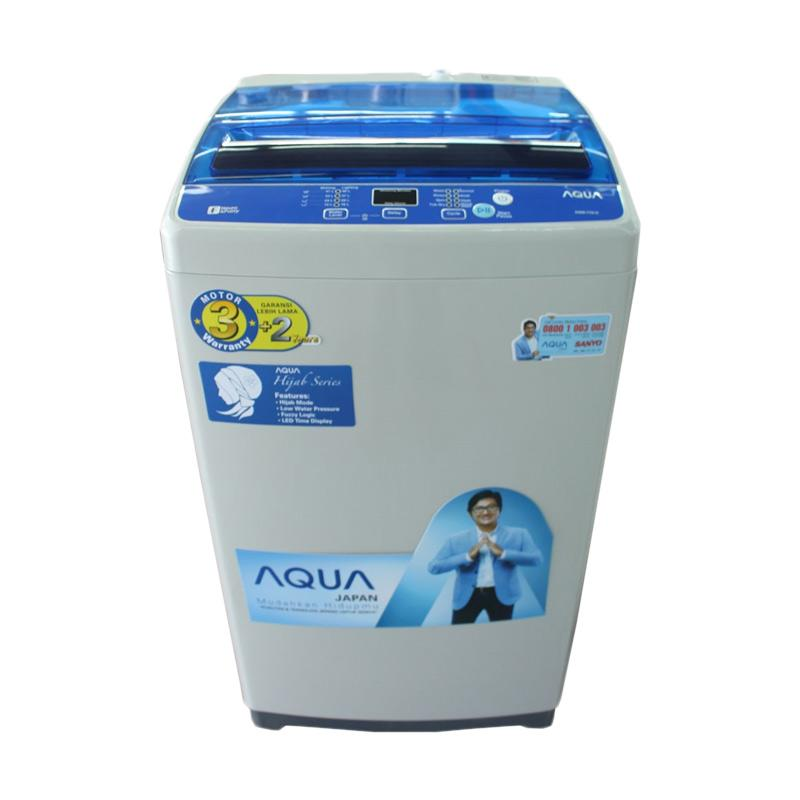 Jual Aqua Japan AQW 97DH Mesin Cuci Top Loading 9 Kg