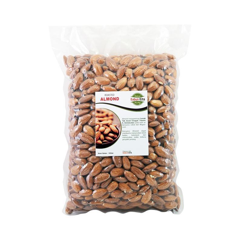 Jual Kacang Almond Kiloan Kualitas Import Harga Kaki Lima
