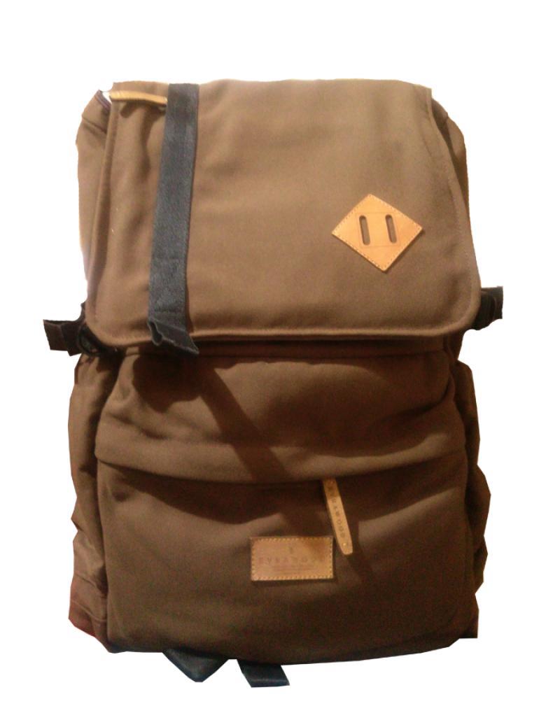 Jual Evrawood Detroit Backpack Dark Brown Online Harga