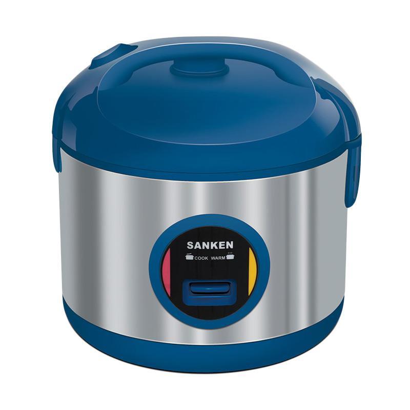 jual sanken sj3030bl rice cooker   biru 2 liter online