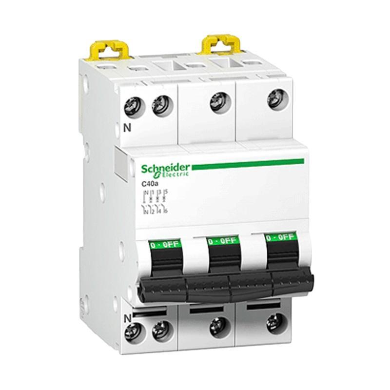 jual schneider acti9 ic60n 3p 16a c miniature circuit breaker 3 phase 16 ampere online harga. Black Bedroom Furniture Sets. Home Design Ideas